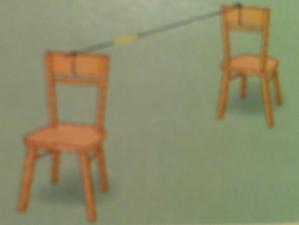 Balon Roket sandalye