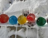 Buzdan toplar