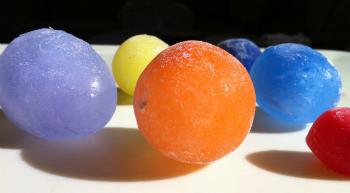Mini buz toplar